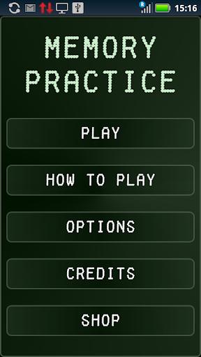 Memory Practice