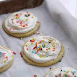 Bakery-Style Soft Baked Sugar Cookies.
