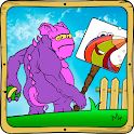 填色遊戲:怪物 icon