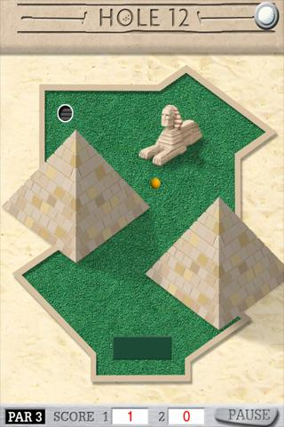 Crazy Putt - screenshot