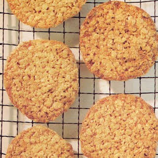 Oatmeal-Lace Cookies.