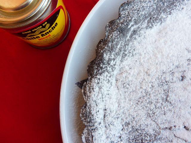 Chocolate and Chili Cake Recipe