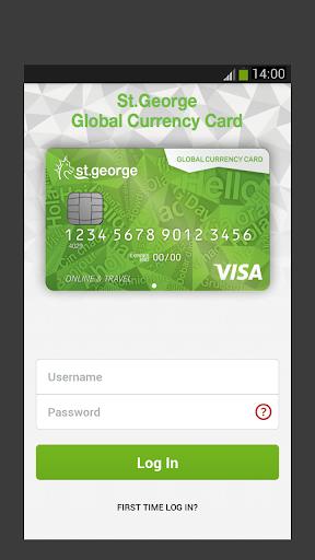 St.George Global Currency Card
