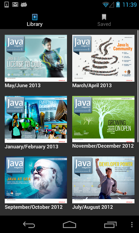 Java Magazine- screenshot