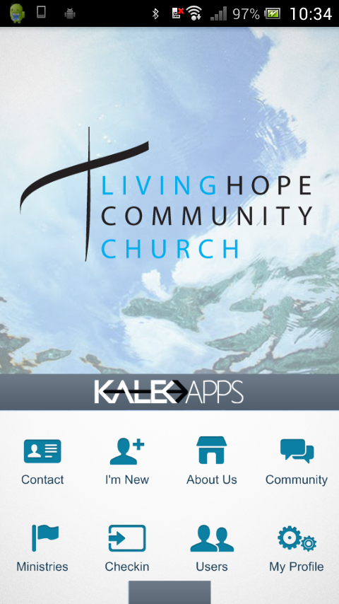 Living Hope Community Church- screenshot