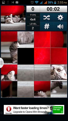 Cats Sliding Puzzle