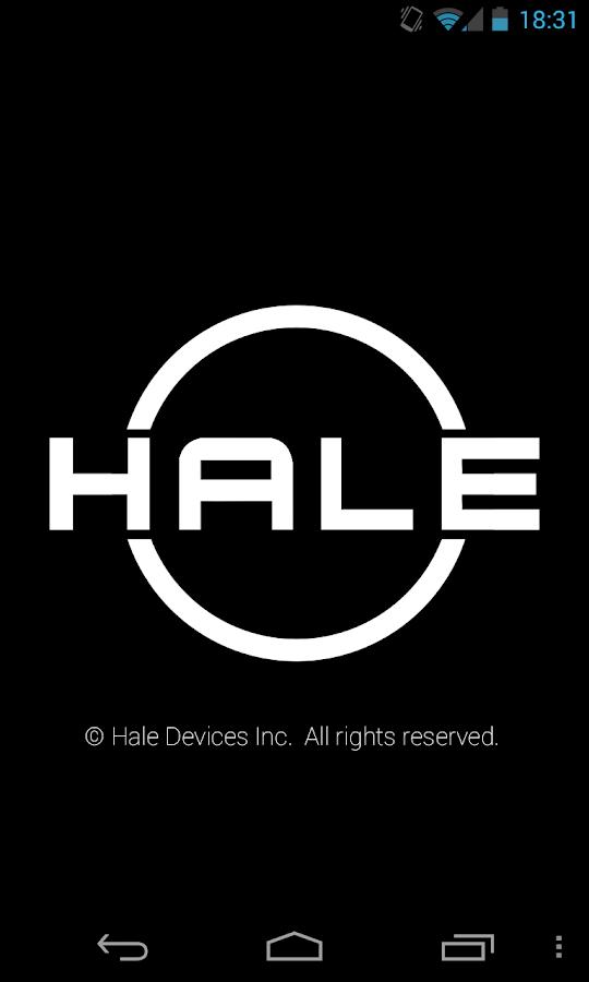 HALE Signal Protocol- screenshot
