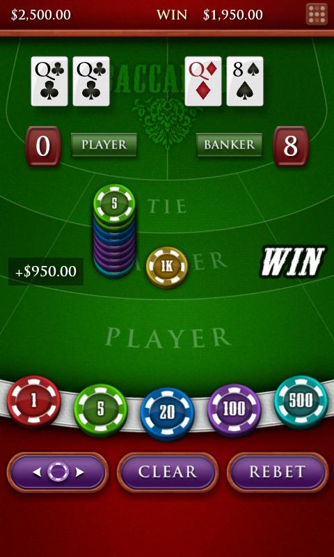 Baccarat Royale- screenshot