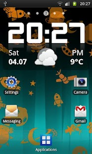 Androids Pro! Live Wallpaper - screenshot thumbnail
