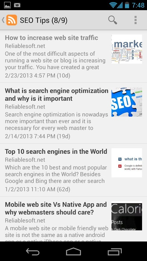 SEO Tips for Beginners- screenshot