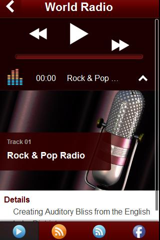 World Radio - Music Player - screenshot
