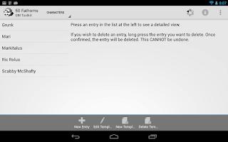 Screenshot of GM Toolkit