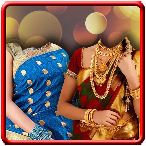Bridal Saree Insta Photo Maker LOGO-APP點子