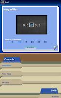 Screenshot of Blackboard Math™ Decimals Demo