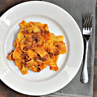 Traditional Bolognese Ragù