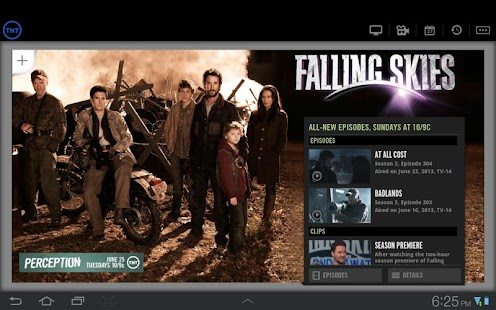 WATCH TNT for Tablets - screenshot thumbnail