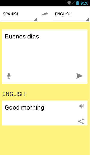 Translate spanish to english