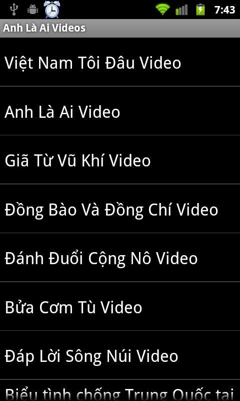 Việt Khang Nhạc Yêu Nước- screenshot