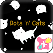★FREE THEMES★Dots 'n' Cats