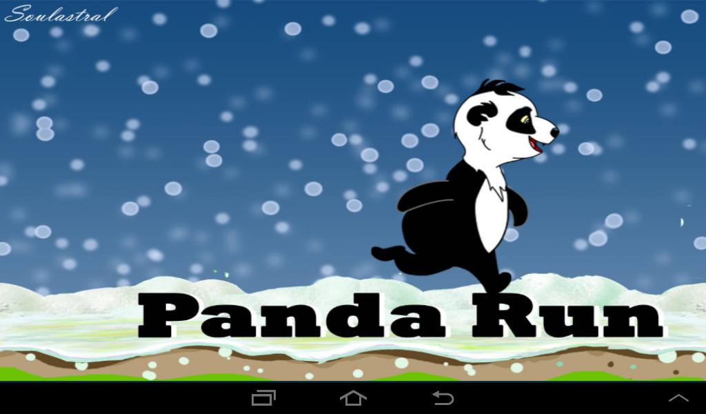Panda Run- screenshot