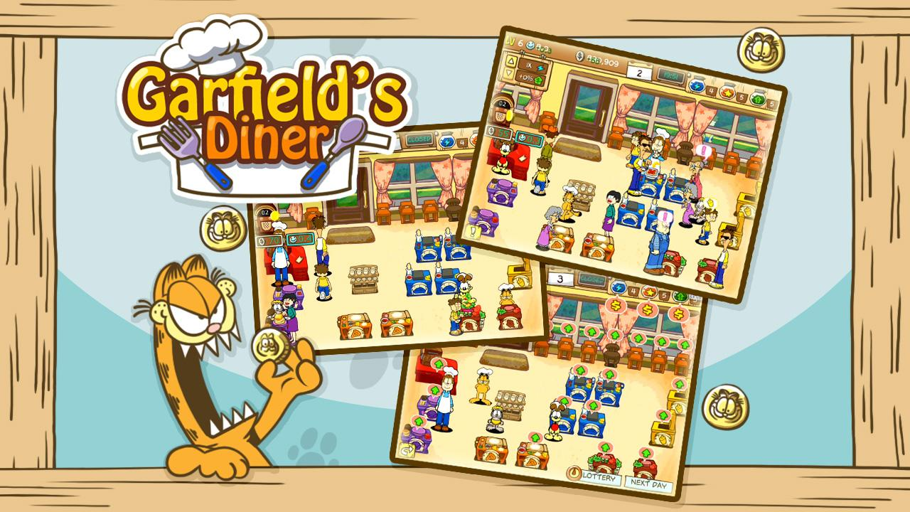 Garfield's Diner - screenshot