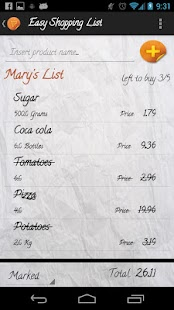 Easy Shopping List PRO - screenshot thumbnail