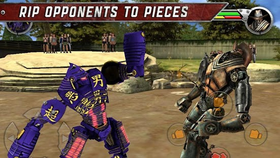 بازی نبرد پولادین Real Steel HD v1.2.2