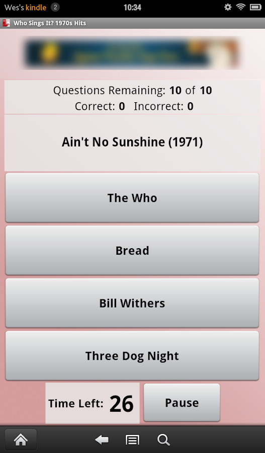 Who Sings It? 1970s Hits - screenshot
