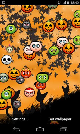 Funny Orange Halloween LWP