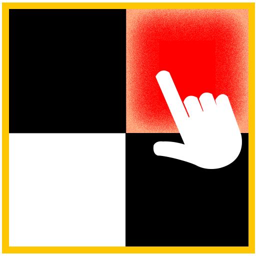 タッチホワイトタイルをタップしないでください 街機 App LOGO-硬是要APP