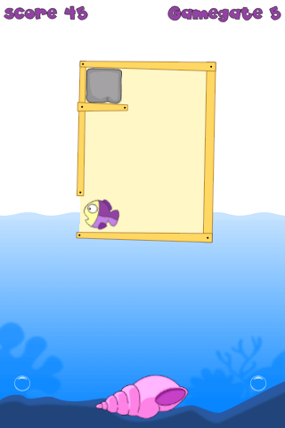 Fish Maze for Kids