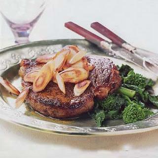 Rib-Eye Steaks with Curried Salt