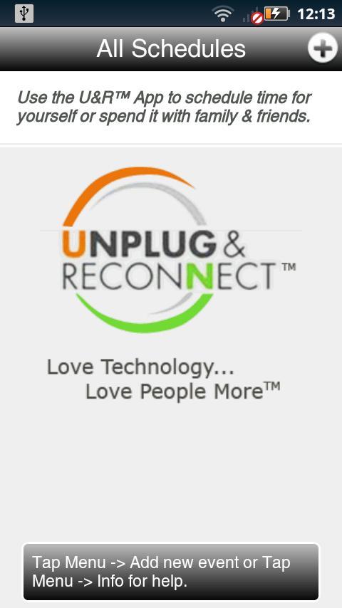 Unplug and Reconnect™ - screenshot