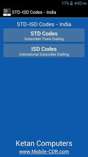 STD and ISD Codes India