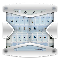 Clear Blue Sky TouchPal Theme 4.1 Boring Green