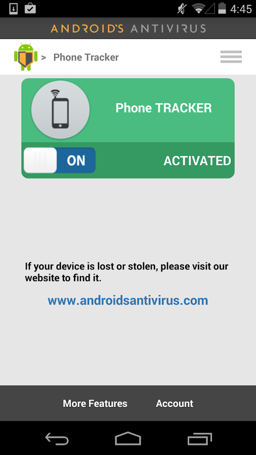 AntiVirus for  Android™ - screenshot