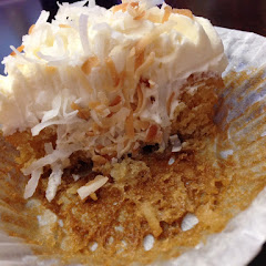 This was a Toasted Coconut cupcake.  Worth a trip just for this.  YUMMY!