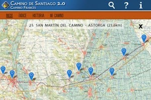 Screenshot of Camino de Santiago