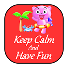 Keep Calm and Have Fun Free icon