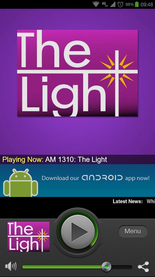 AM 1310 The Light - screenshot