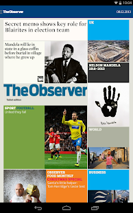 The Guardian daily edition - screenshot thumbnail