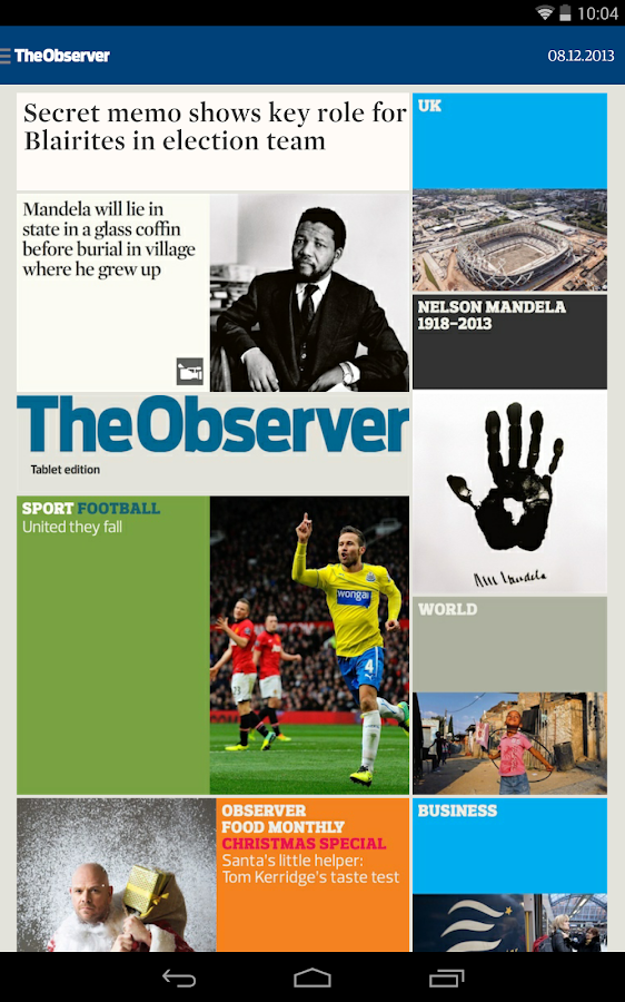 The Guardian daily edition- screenshot