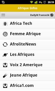 Afrique Infos et Actu 新聞 App-癮科技App