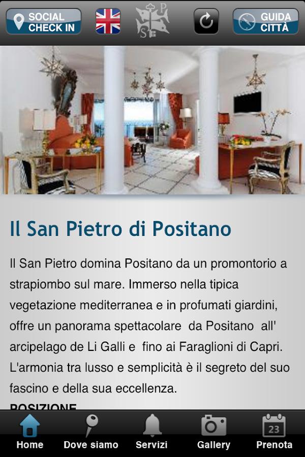 Il San Pietro di Positano - screenshot