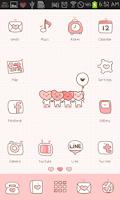 Screenshot of LOVE(Pink) icon theme