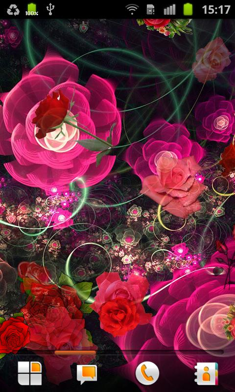 Roses Live Wallpaper - screenshot
