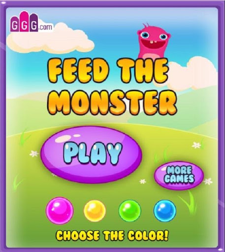 Feed Cute Monster Game