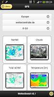 Screenshot of MeteoScout