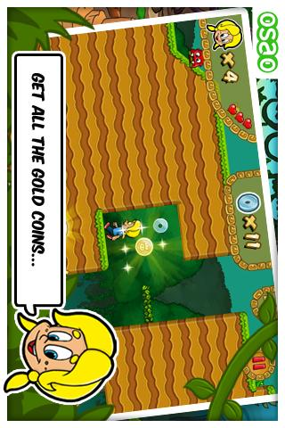 Pixeline Jungle Treasure FREE - screenshot
