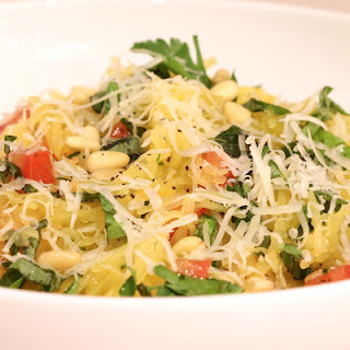 "Spaghetti Squash ""Pasta"" with Fresh Herbs Recipe"